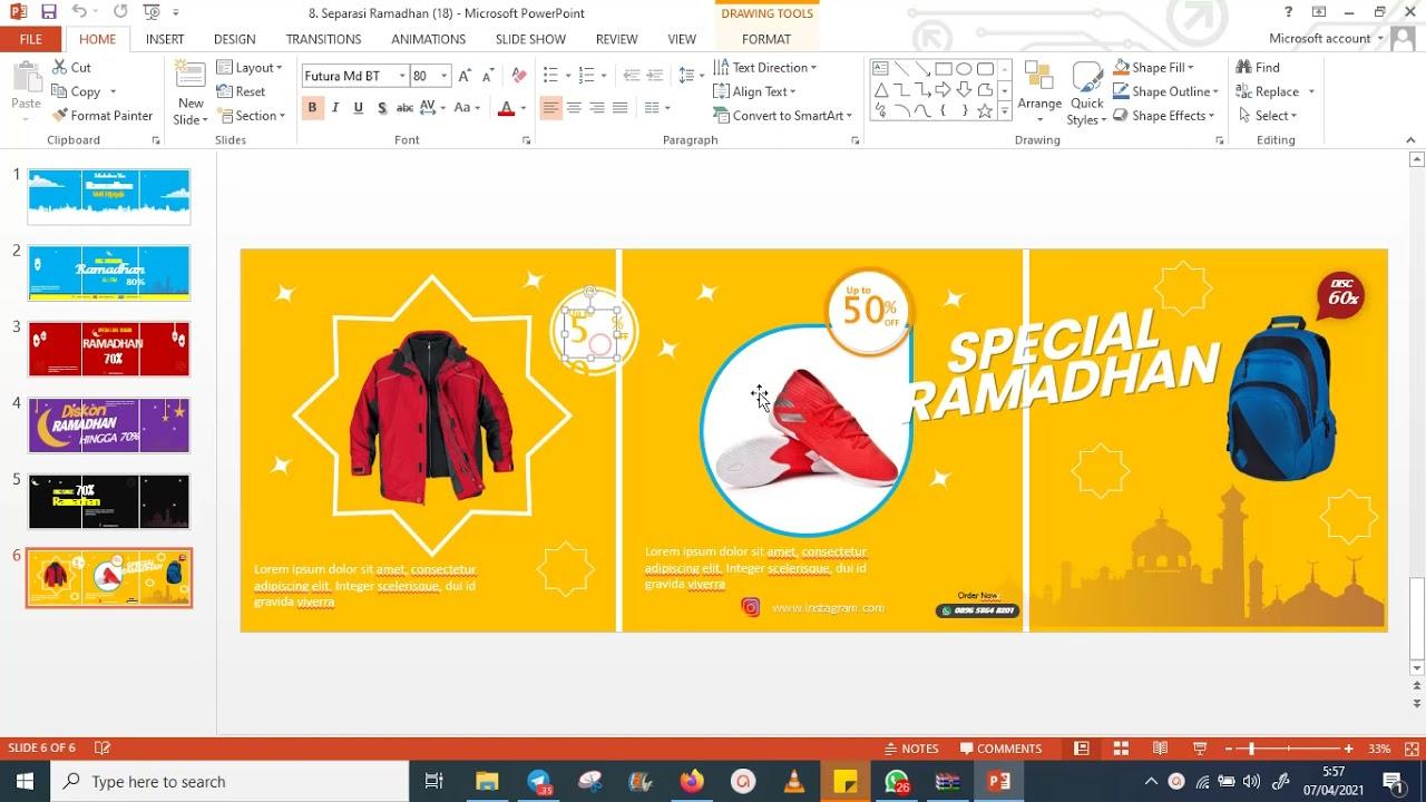108 Template Instargram untuk Produk Ramadhan - Rumah ...